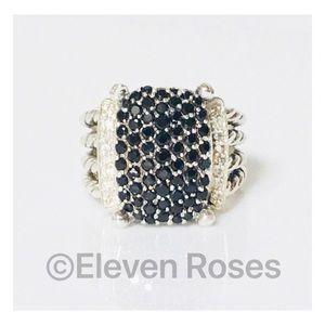 David Yurman Black & White Diamond Wheaton Ring